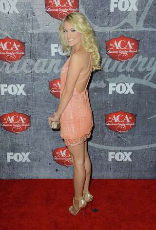 Singer Carrie Underwood arrives. Photo: Frazer Harrison, Getty Images / 2012 Getty Images