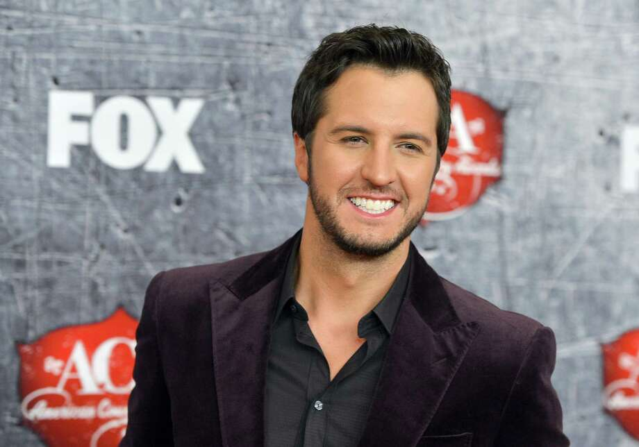 Singer Luke Bryan arrives. Photo: Frazer Harrison, Getty Images / 2012 Getty Images