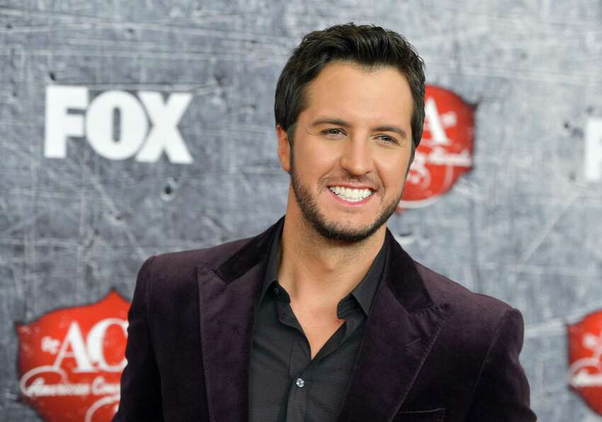Singer Luke Bryan arrives.