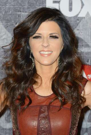 Singer Karen Fairchild of Little Big Town arrives. Photo: Frazer Harrison, Getty Images / 2012 Getty Images