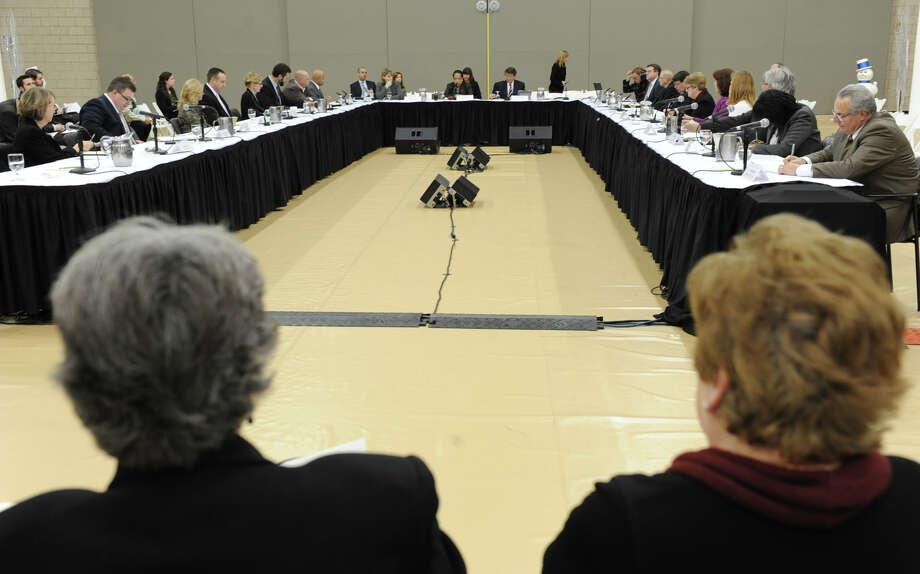 The Capital Region Economic Development Council holds a public meeting at Rensselaer Polytechnic Institute on Monday Dec. 10, 2012 in Troy, N.Y. (Lori Van Buren / Times Union) Photo: Lori Van Buren