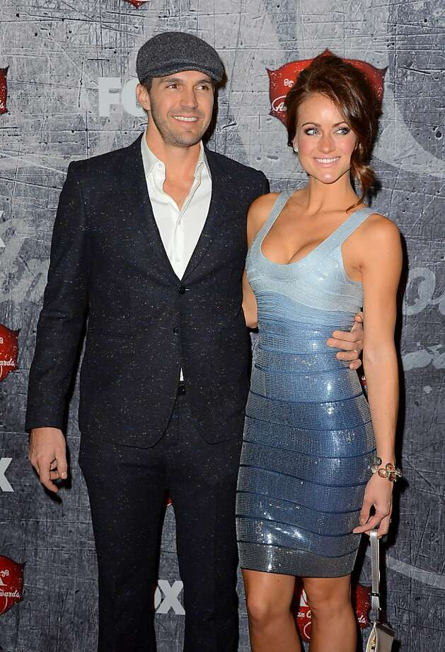 LAS VEGAS, NV - DECEMBER 10:  Major League Baseball pitcher Barry Zito (L) and his wife Amber Seyer arrive at the 2012 American Country Awards at the Mandalay Bay Events Center on December 10, 2012 in Las Vegas, Nevada.  (Photo by Frazer Harrison/Getty Images) Photo: Frazer Harrison, Getty Images