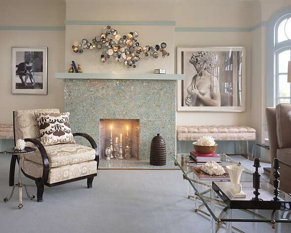old hollywood glamour living room decor fireplaces not just for sfgate 24662
