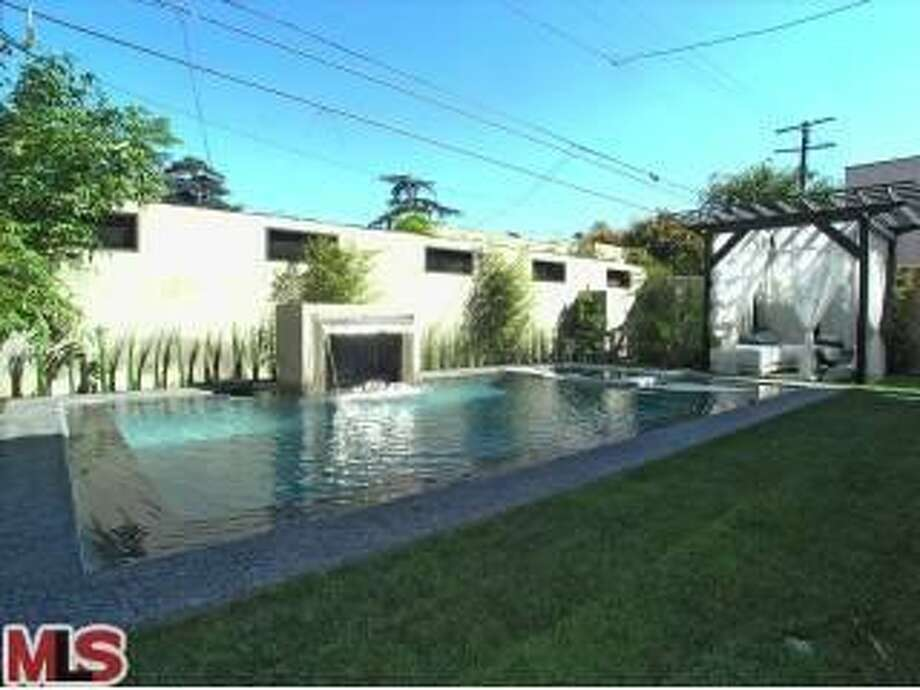 Pacquiao told MTV's Cribs that he and his family spend a lot of time in the pool area. (Redfin)
