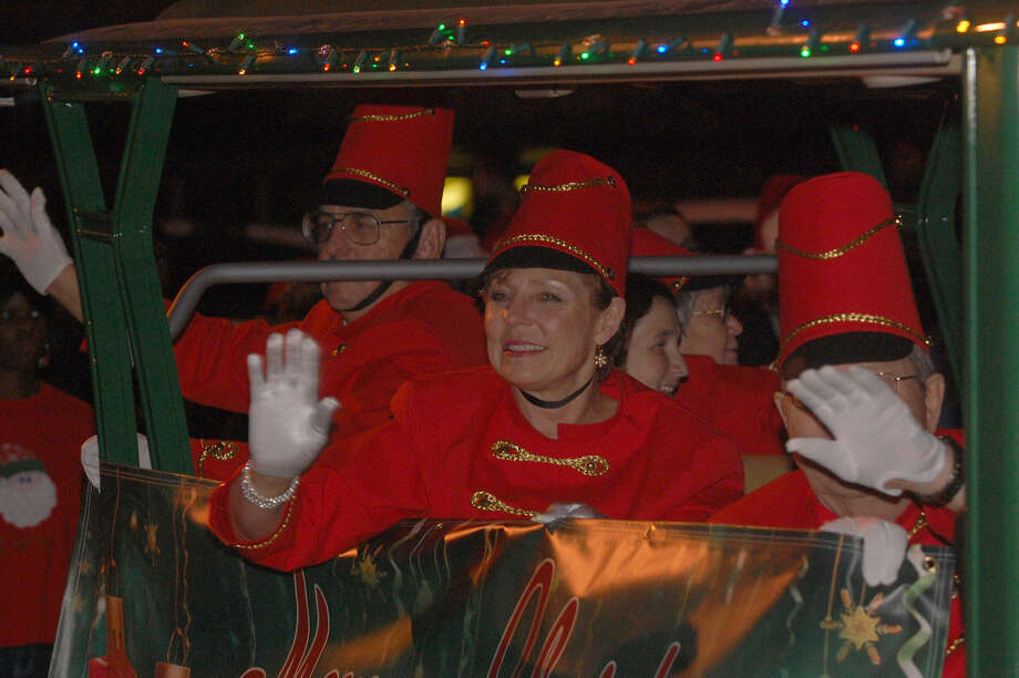 Annual Christmas parade in Jasper. Photo: Jimmy Galvan