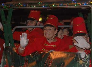 Annual Christmas parade in Jasper.