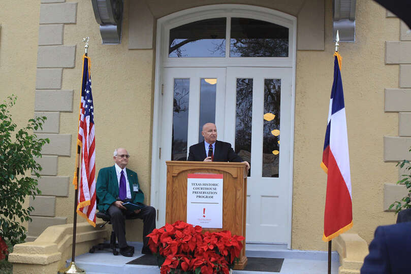 The re-opening of the Newton County courthouse.