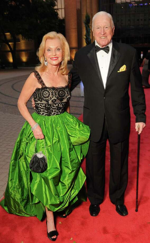 Pat and Dan Breen at the Houston Grand Opera Ball at the Wortham Theater on April 15. Photo: Dave Rossman, For The Chronicle / © 2012 Dave Rossman