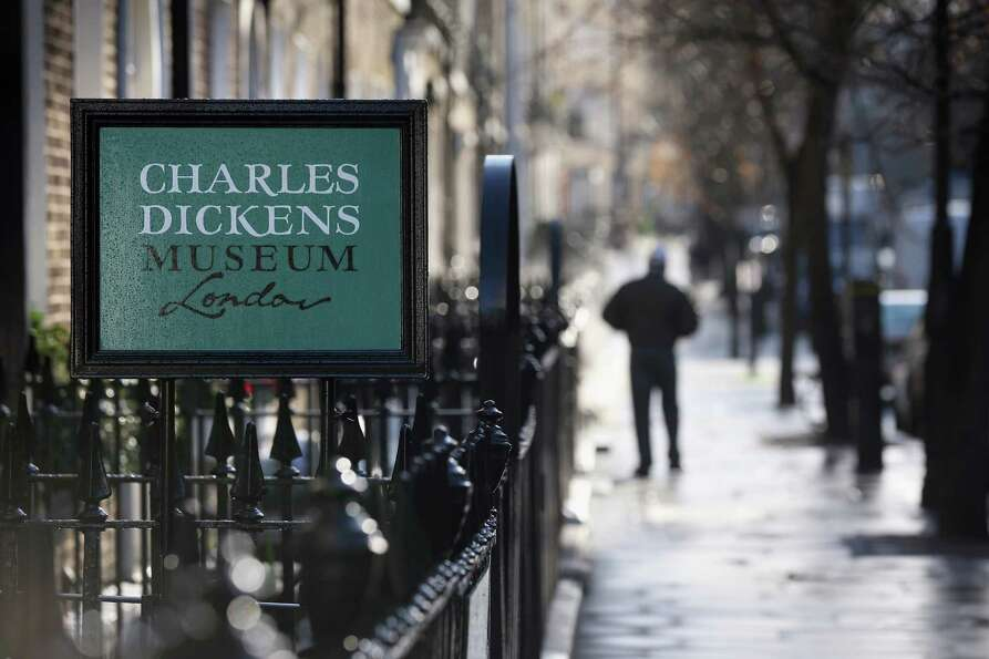 LONDON, ENGLAND - DECEMBER 07:  An exterior view of the Charles Dickens Museum on December 7, 2012 i
