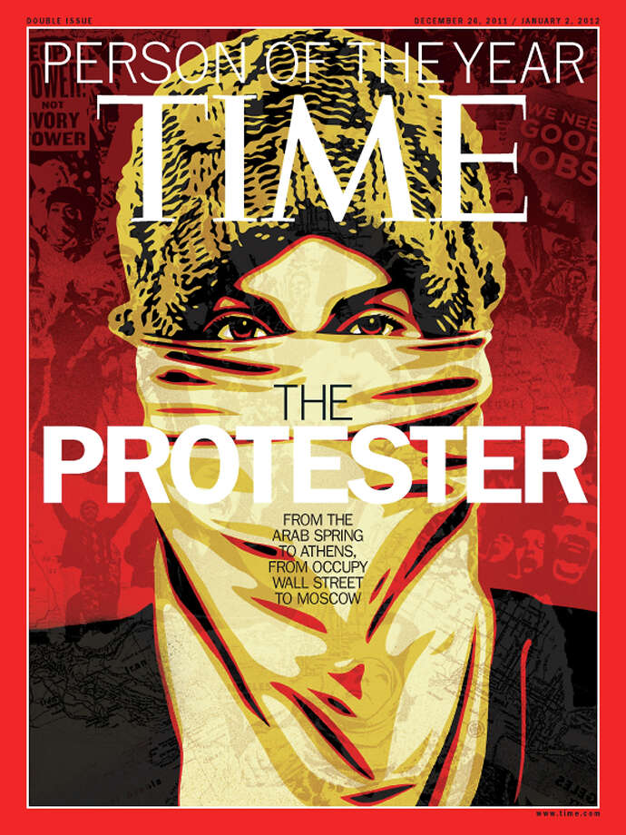 2011: The Protester Photo: Associated Press