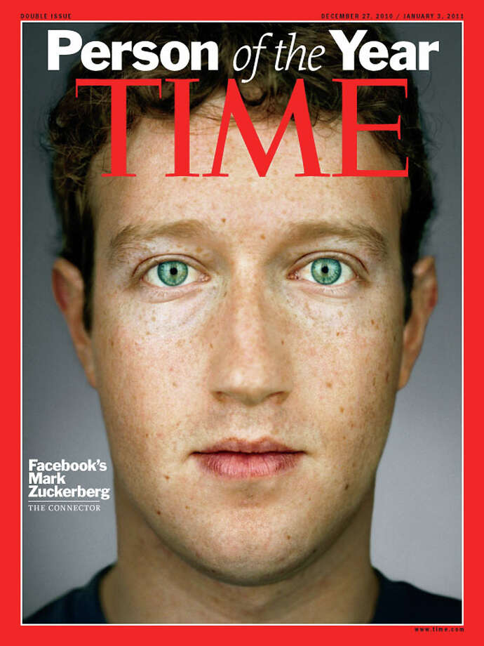 2010: Facebook's Mark Zuckerberg Photo: Associated Press