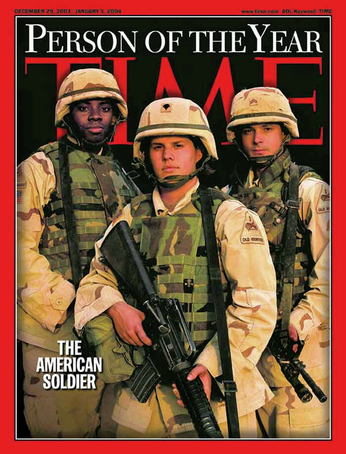 2003: The American Soldier Photo: Associated Press