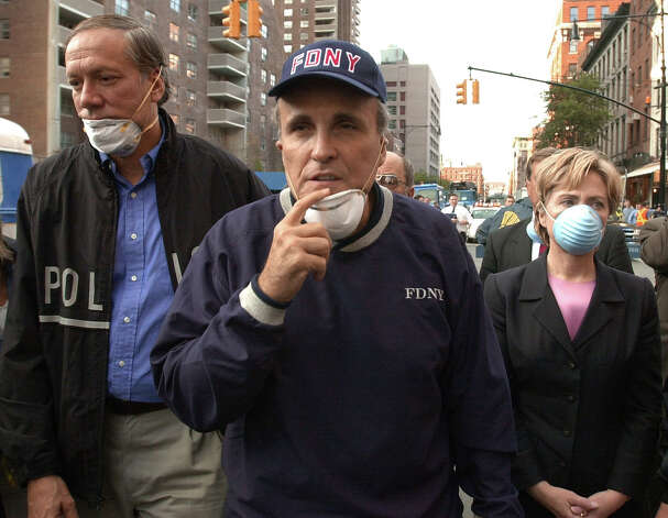 2001: New York City Mayor Rudy Giuliani Photo: Associated Press