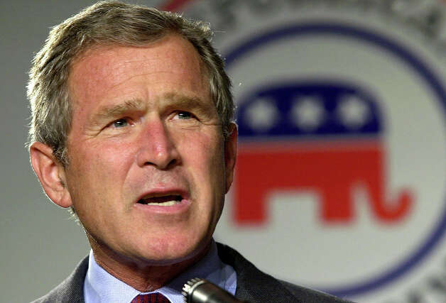 2000: President George W. Bush Photo: ERIC DRAPER, Associated Press / AP2000