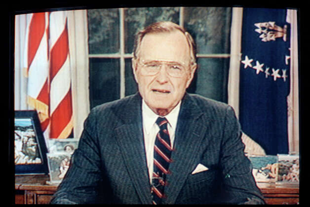 1991: President George H. Bush Photo: Associated Press