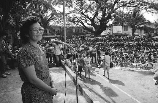 1987: Corazon Aquino, president of the Philippines Photo: Andy Hernandez, Associated Press / AP1984