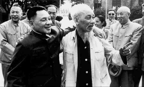 1986: Chinese leader Deng Xiaoping, left. Photo: Associated Press / 1965 AP