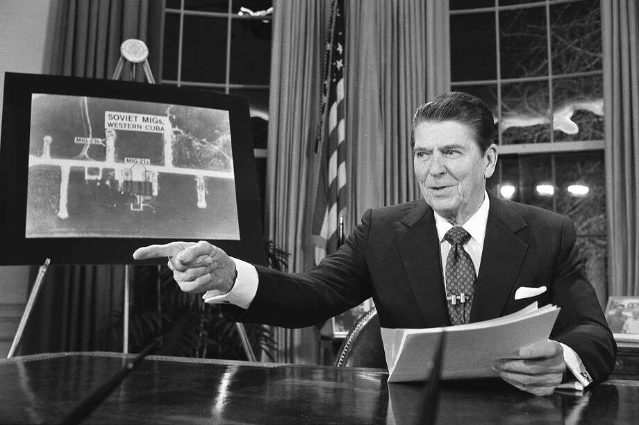1983: President Ronald Reagan Photo: Associated Press