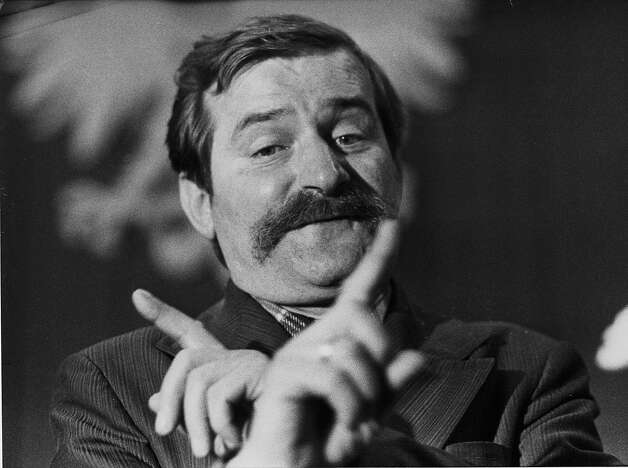 1981: Lech Walesa of Poland Photo: Associated Press