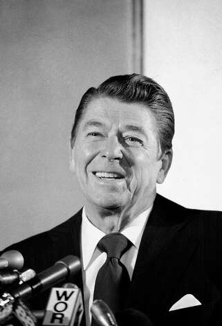 1980: President Ronald Reagan Photo: Associated Press