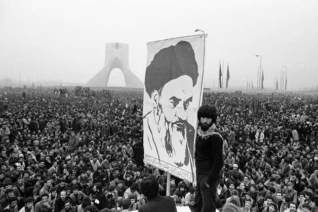 1979: Iran's Ayatollah Khomeini Photo: Associated Press