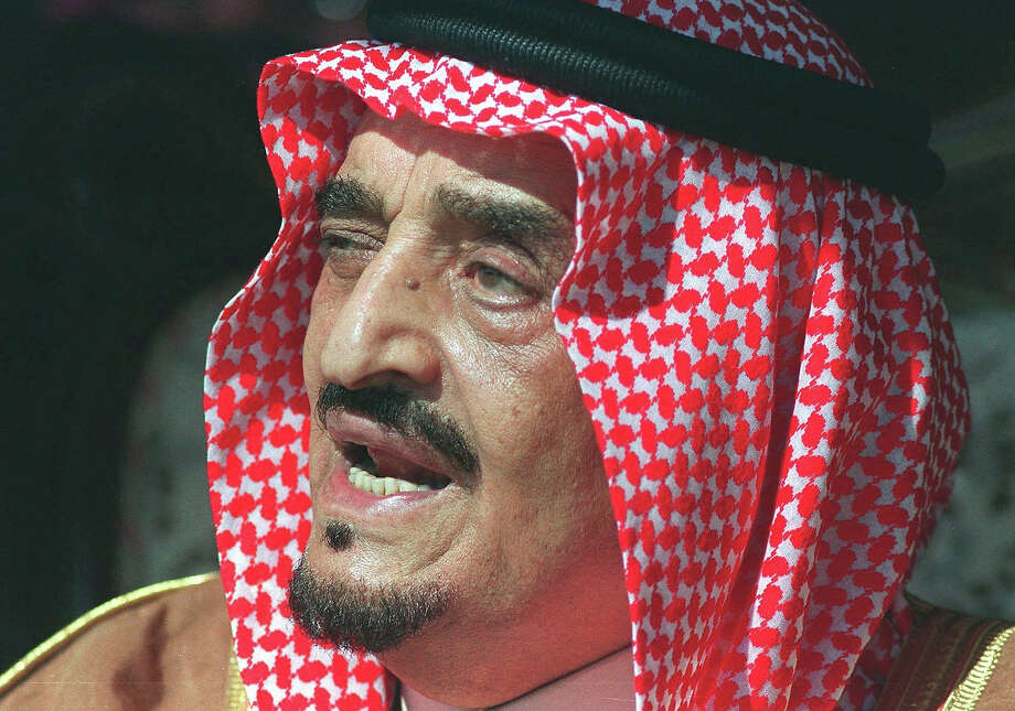 1974: King Fahd of Saudi Arabia Photo: PAOLA CROCIANI, Associated Press / AP1989