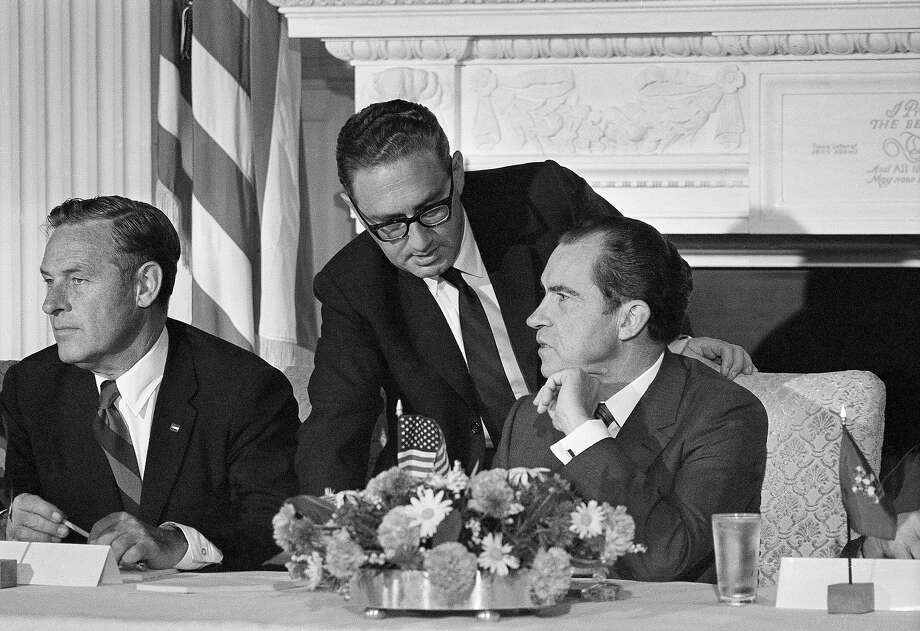 1972: Dr. Henry A. Kissinger Photo: Associated Press