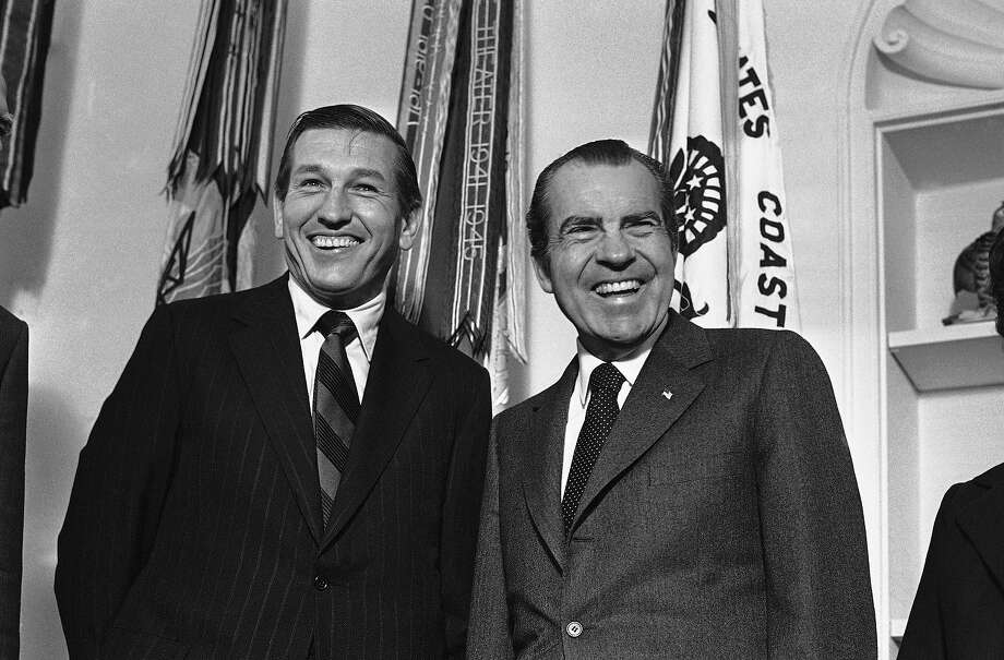 1971: President Richard M. Nixon Photo: Associated Press