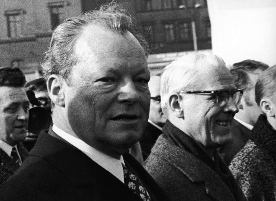 1970: West German Chancellor Willy Brandt Photo: Associated Press
