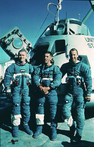 1968: The Crew of Apollo 8 Photo: Anonymous, Associated Press / AP1968