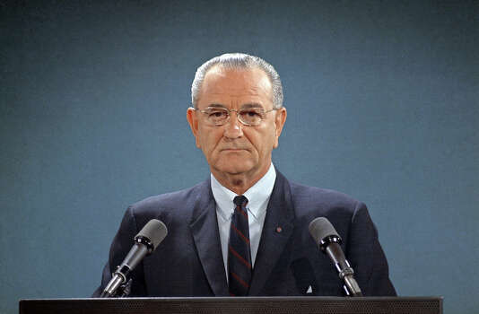 1967: President Lyndon B. Johnson Photo: Associated Press
