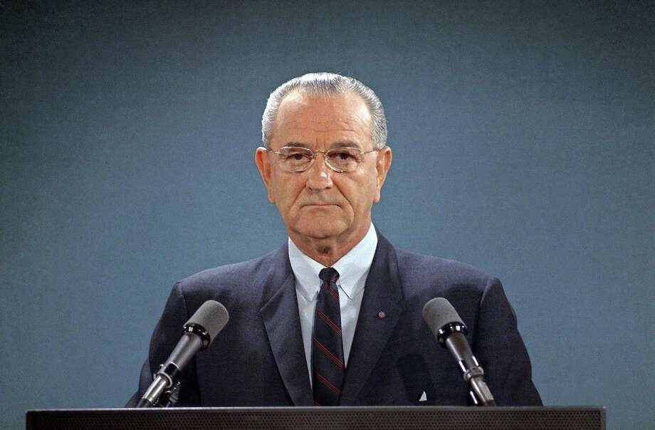 1967: President Lyndon B. Johnson Photo: Associated Press