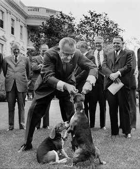1964: President Lyndon B. Johnson Photo: CHARLES P. GORRY, Associated Press / 2007 AP