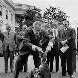 1964: President Lyndon B. Johnson