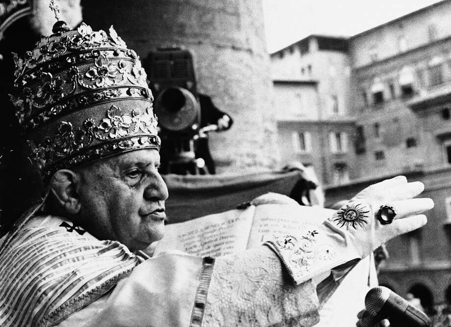 1962: Pope John XXIII Photo: Associated Press / AP1958