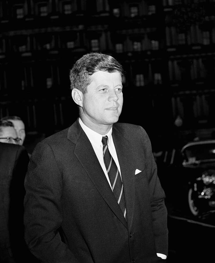 1961: President John F. Kennedy Photo: Associated Press