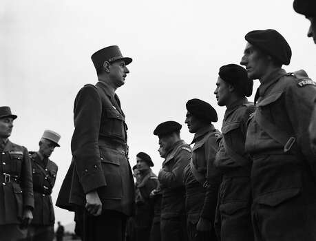1958: France's Charles de Gaulle Photo: Associated Press