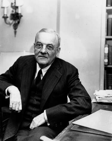 1954: Sen. John Foster Dulles Photo: SCHUTZ, Associated Press / AP1952