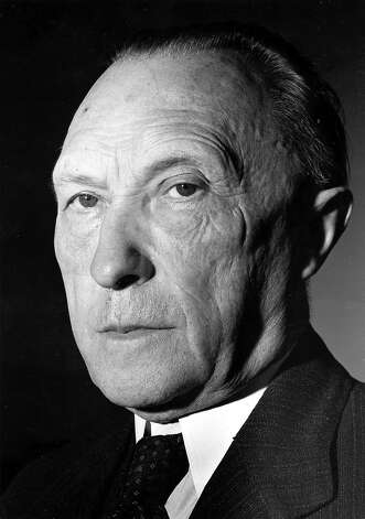1953: Dr. Konrad Adenauer, the Federal Republic of Germany's first post-war Chancellor Photo: Associated Press / AP1949