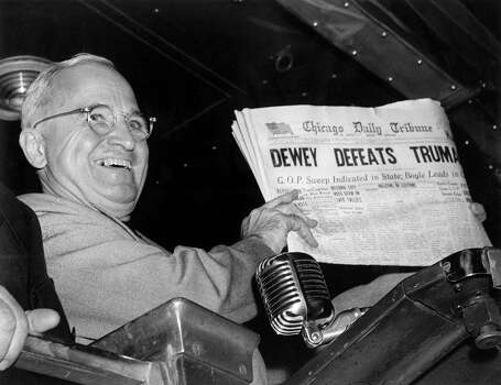 1945: President Harry S. Truman Photo: Associated Press