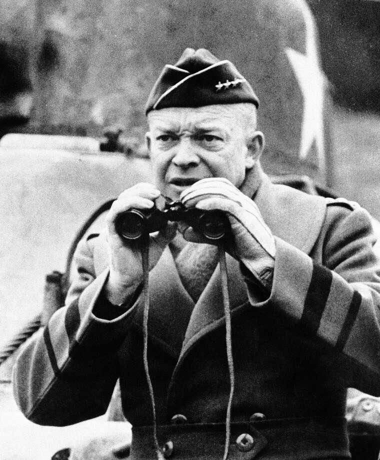 1944: General Dwight D. Eisenhower Photo: Associated Press / AP1944