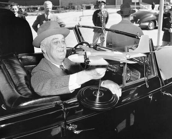 1941: President Franklin D. Roosevelt Photo: Associated Press