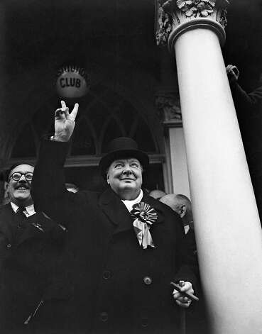 1940: Winston Churchill Photo: Associated Press