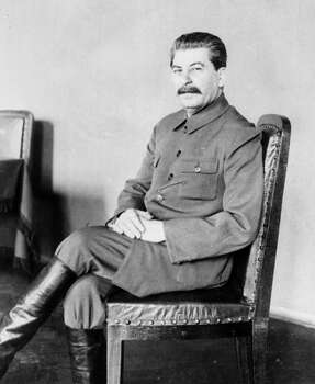 1939: Joseph Stalin Photo: Associated Press