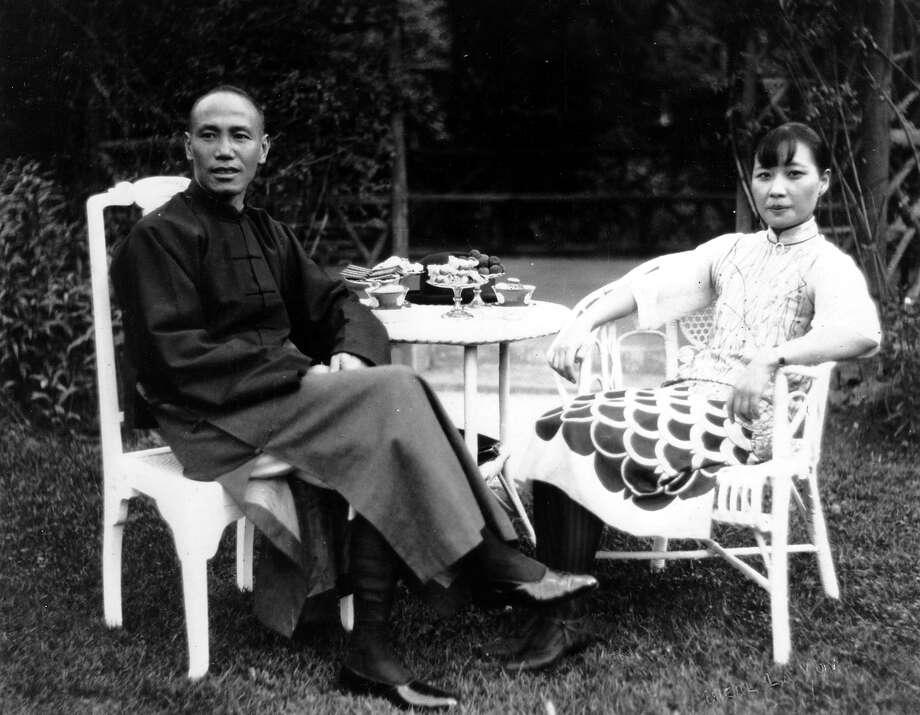 1937: China's Gen. Chiang Kai-shek and his wife, Soong Mei-ling Photo: Associated Press / 1927 AP