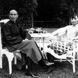 1937: China's Gen. Chiang Kai-shek and his wife, Soong Mei-ling