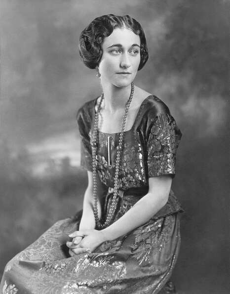 1936: Wallis Simpson (King Edward abdicated the throne to marry her)