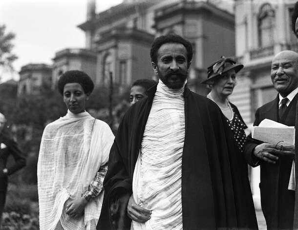 1935: Haile Selassie I exiled Emperor of Abyssinia, Emperor of Ethiopia Photo: Associated Press