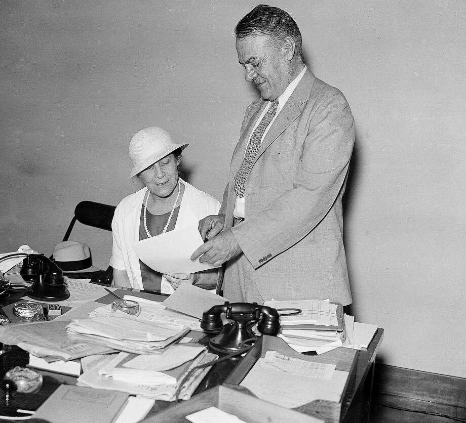 1933: General Hugh S. Johnson, Recovery Administrator Photo: Associated Press