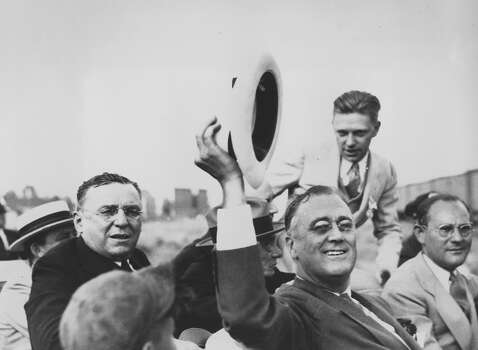 1932: President Franklin D. Roosevelt Photo: Associated Press